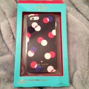 NWT Kate Spade IPhone 5s Cover Case Polka Dot